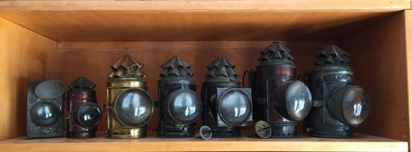 Some of the editor's collection of Dark Lanterns https://darklanterntales.wordpress.com/