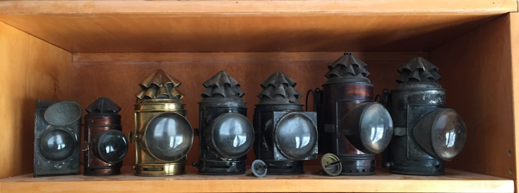 Police Lanterns, also called Dark Lanterns and Bullseye Lanterns Lanterns