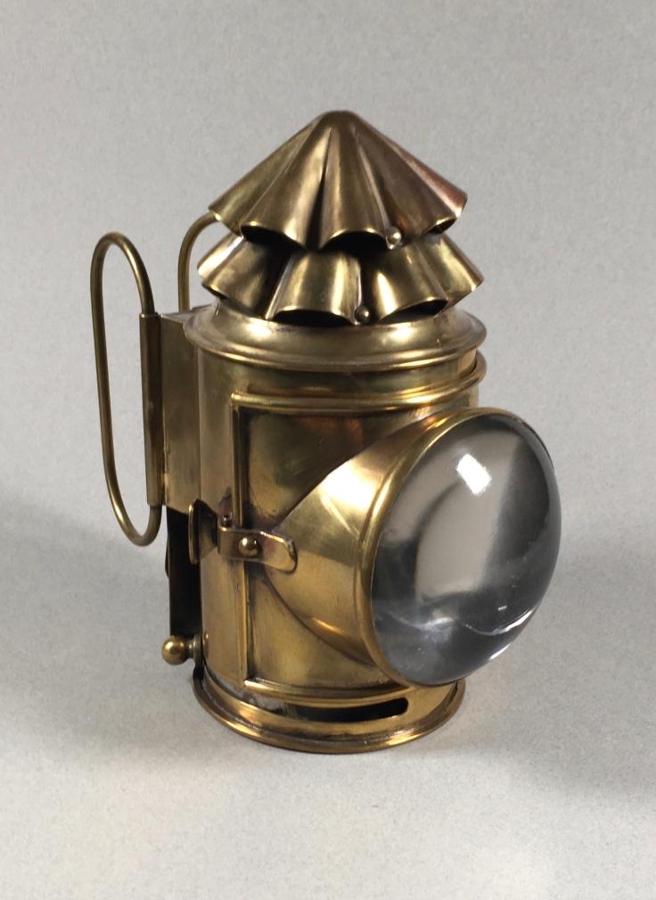 Brass Dark Lantern ca 1900