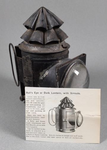 An 1890s Dark Lantern with 1894 Ad https://darklanterntales.wordpress.com/