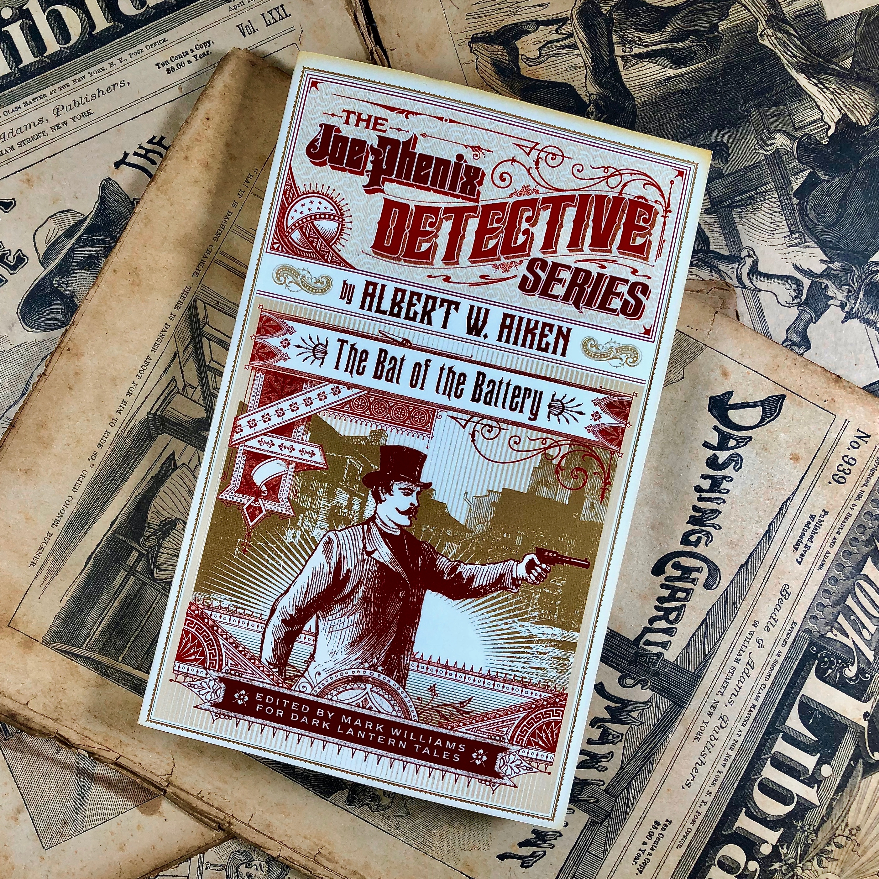 The Bat of the Battery, The Joe Phenix Detective Series
