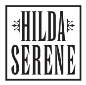 Hilda Serene logo Black